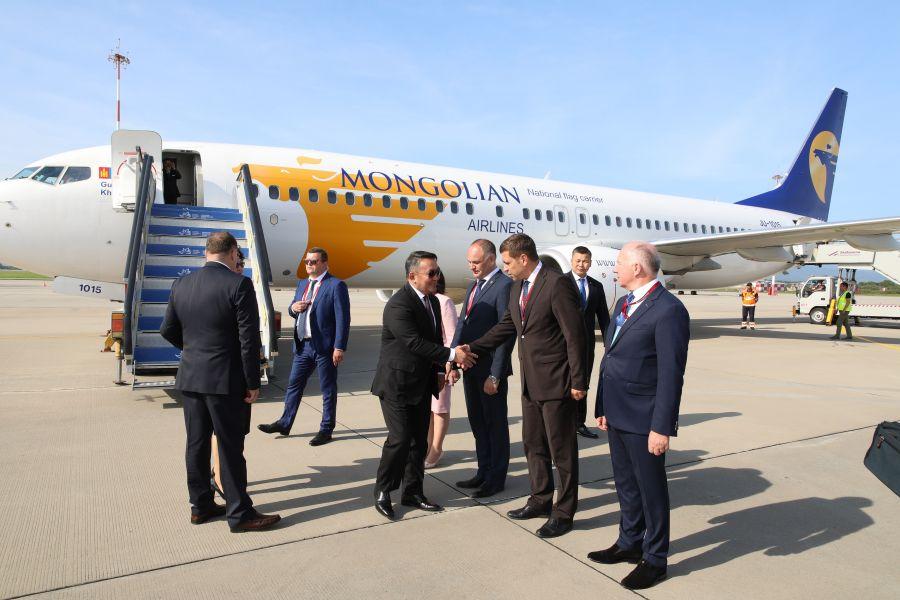 President of Mongolia taking part in Eastern Economic Forum 2019
